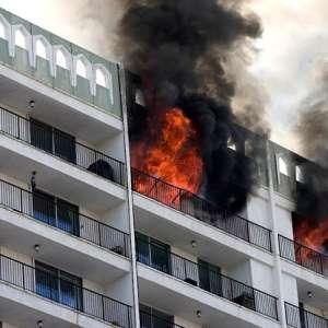 Protección de incendios en construcción de edificios
